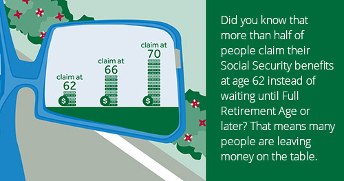 It's easy to see why retirees claim Social Security as soon as they can